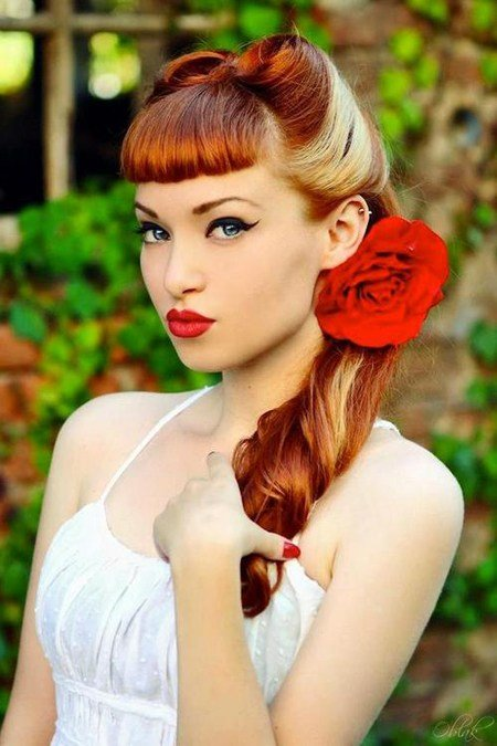 The Best Coiffure Frange Pin Up Pictures