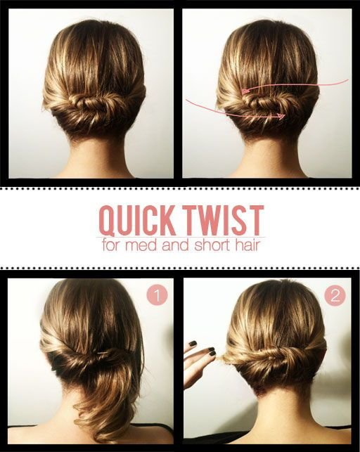 The Best Hair Tutorials For Short Hair Fashionsy Com Pictures