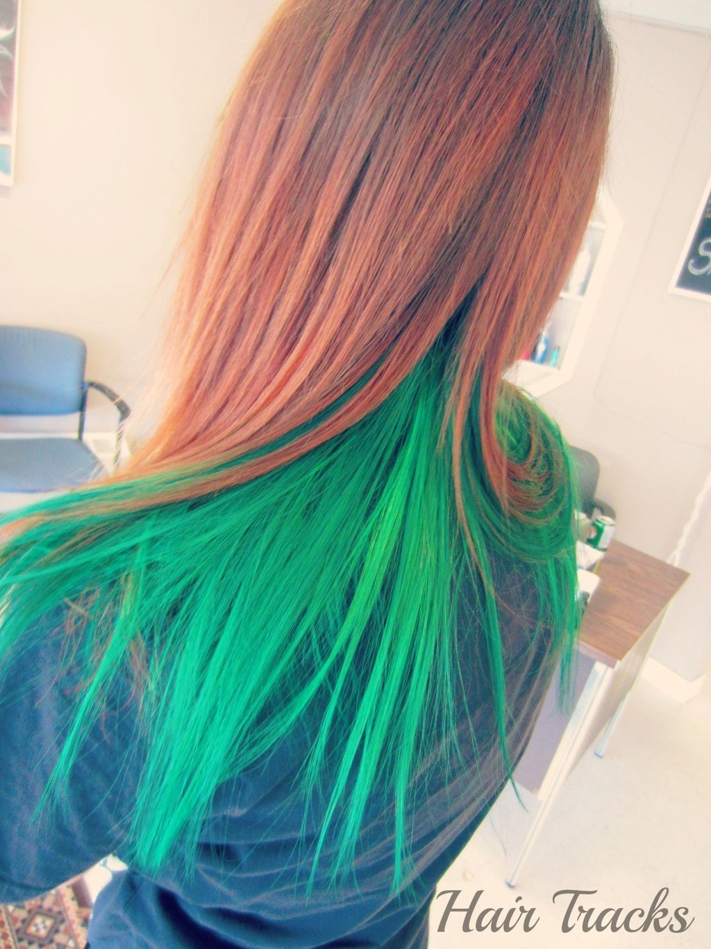 The Best Hair Green Elumen Hair Colour By Imhermonster On Deviantart Pictures