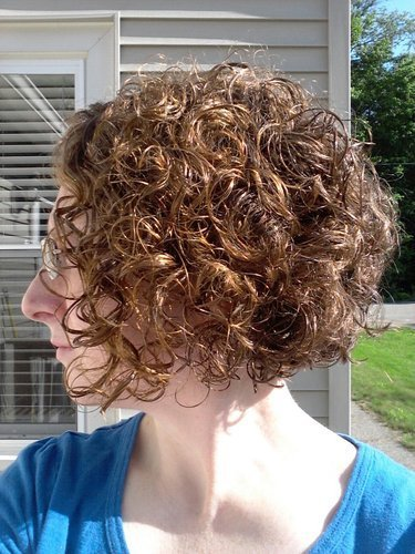 The Best Curly Angled Bob By Abcisme Pictures