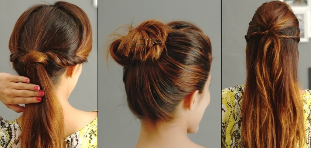 The Best Try These Easy And Simple Hairstyle To Kurti If You Want Pictures