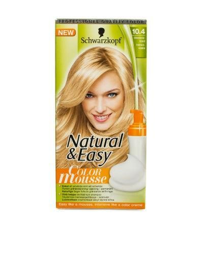 The Best Natural Easy Color Mousse Schwarzkopf Ivory Hair Pictures