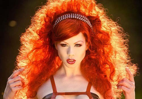 The Best Tangerine Hairstyles Gorgeous Hairstyles Haircuts Pictures