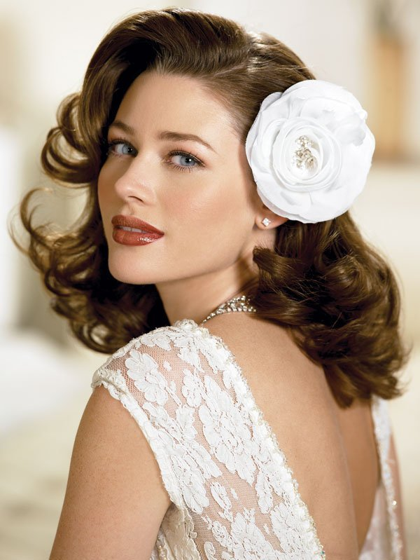The Best Fabulous 40S Inspired Hair Flowers Pictures
