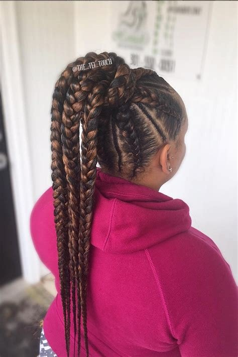 The Best Elaborate Braid Hairstyles To Try Essence Com Pictures