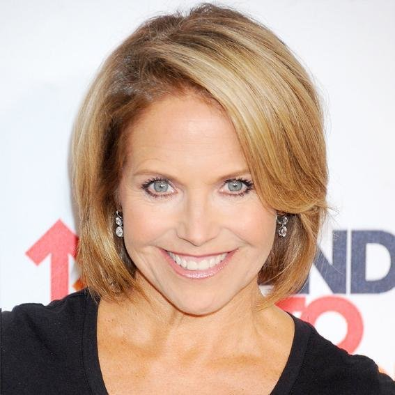 The Best Katie Couric S Changing Looks Instyle Com Pictures