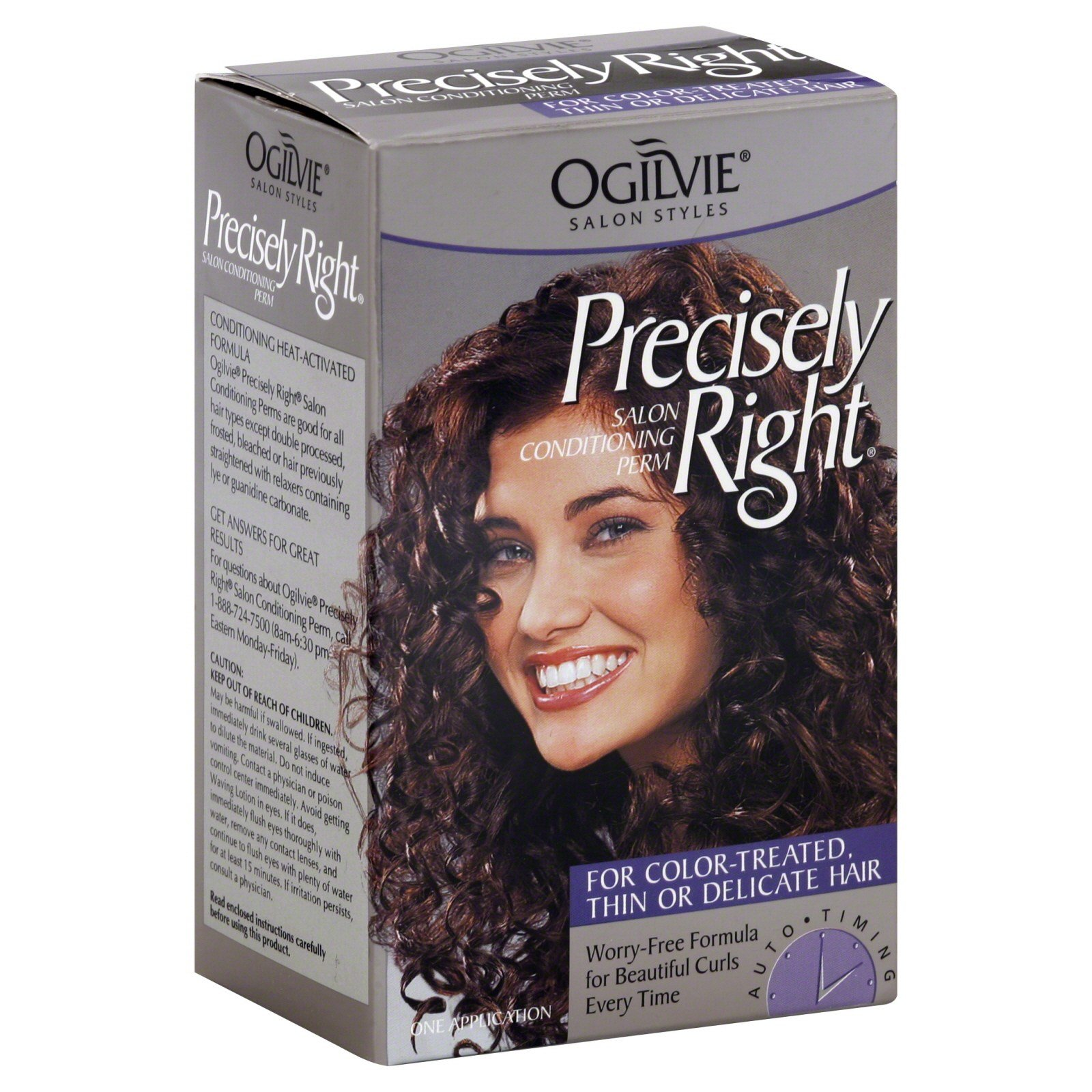 The Best Ogilvie Precisely Right Professional Conditioning Perm For Color Treated Thin Or Delicate Pictures