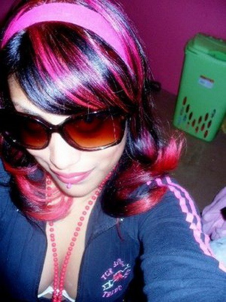 The Best Black And Pink Hairstyles Pictures