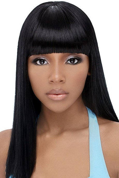 The Best Chinese Bangs Black Hairstyle Pictures