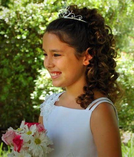 The Best Flower Girl Hairstyles For Long Hair Pictures