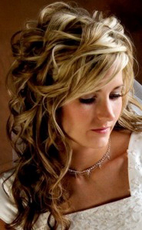The Best Half Up Curly Hairstyles Pictures