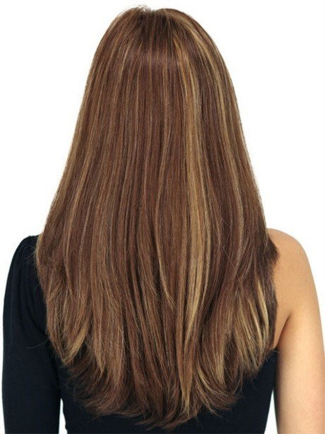 The Best Long Layered Haircuts Back View Pictures
