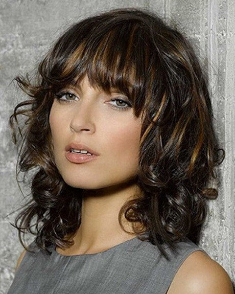 The Best Medium Length Layered Curly Hairstyles Pictures