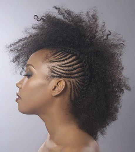 The Best Mohawk Braided Hairstyles For Black Women Pictures
