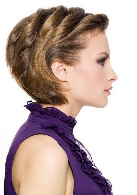 The Best Party Hairstyles For Short Hair Pictures