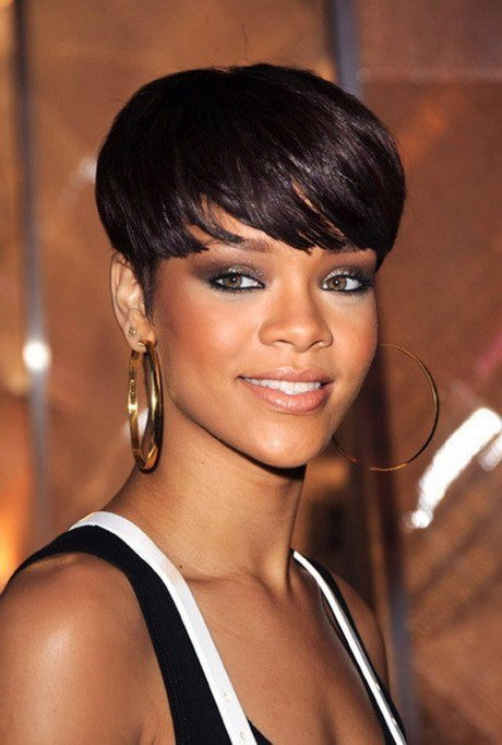 The Best Rihanna Short Hair Styles 2015 Pictures