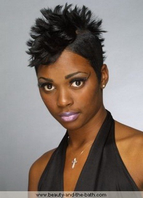 The Best Short Mohawk Hairstyles For Black Women Pictures