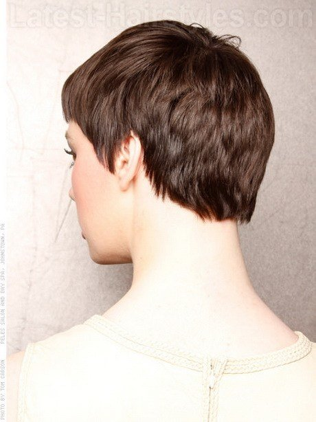 The Best Short Pixie Haircuts Back Of Head Pictures