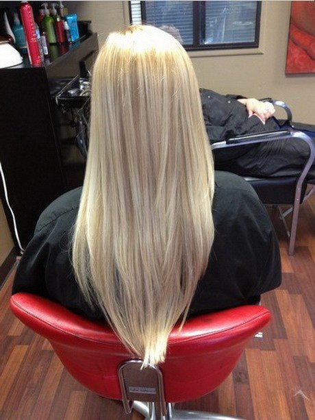 The Best V Haircut For Long Hair Pictures