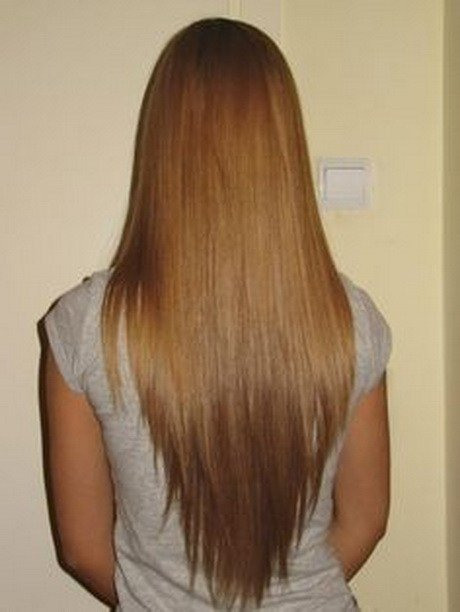 The Best V Shaped Haircut Long Hair Pictures