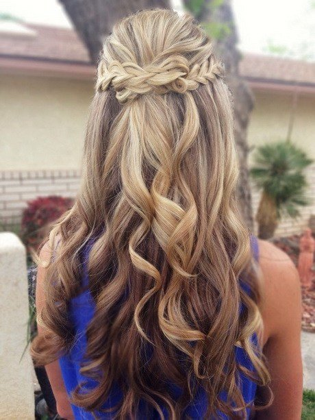 The Best Cute Prom Hairstyles For Long Hair 2015 Pictures
