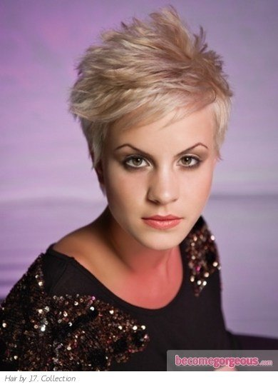 The Best Pictures Short Hairstyles Short Razor Cut Hair Style Pictures