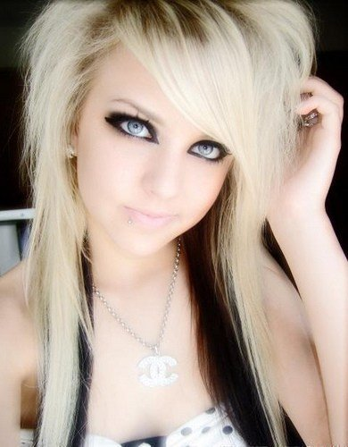 The Best 2010 Blonde Emo Hair Styles Pictures