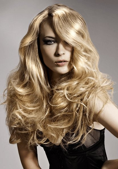 The Best Pictures Sophisticated Long Hairstyles With Side Swept Bangs Long Wavy Hair With Side Swept Pictures
