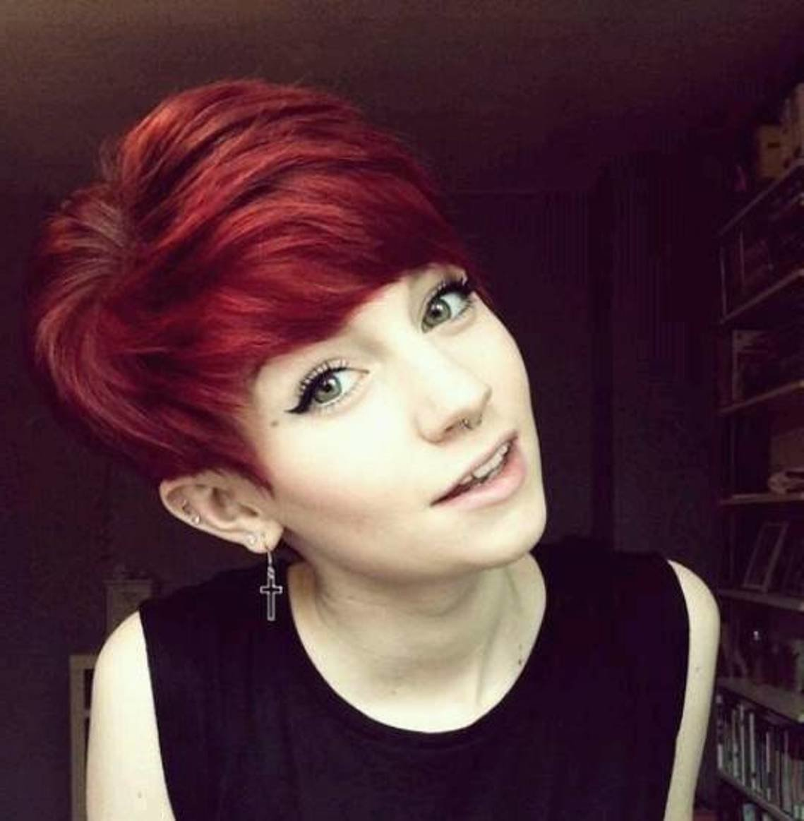 The Best 24 Really Cute Short Red Hairstyles Styles Weekly Pictures