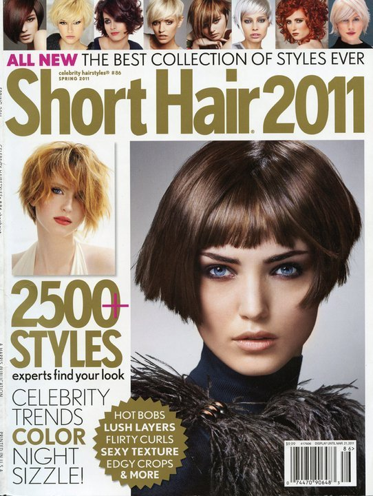 The Best Celebrity Hairstylesshort Hair Magazinespring 2011 Issueunite Gray Hair Cure Pictures