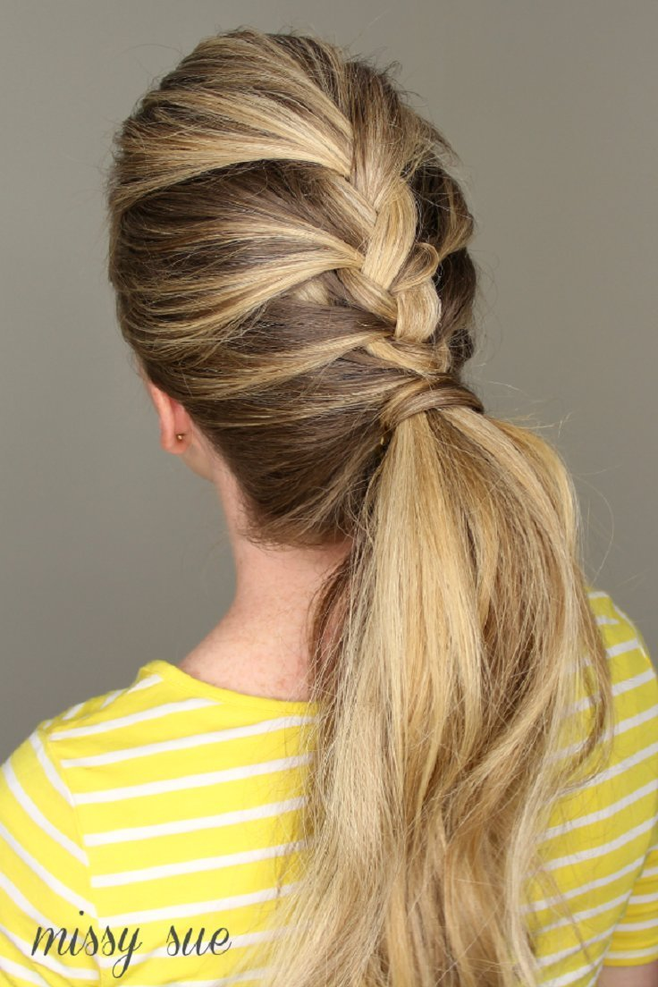 The Best Top 10 Beautiful And Easy Ponytail Hairstyles Top Inspired Pictures