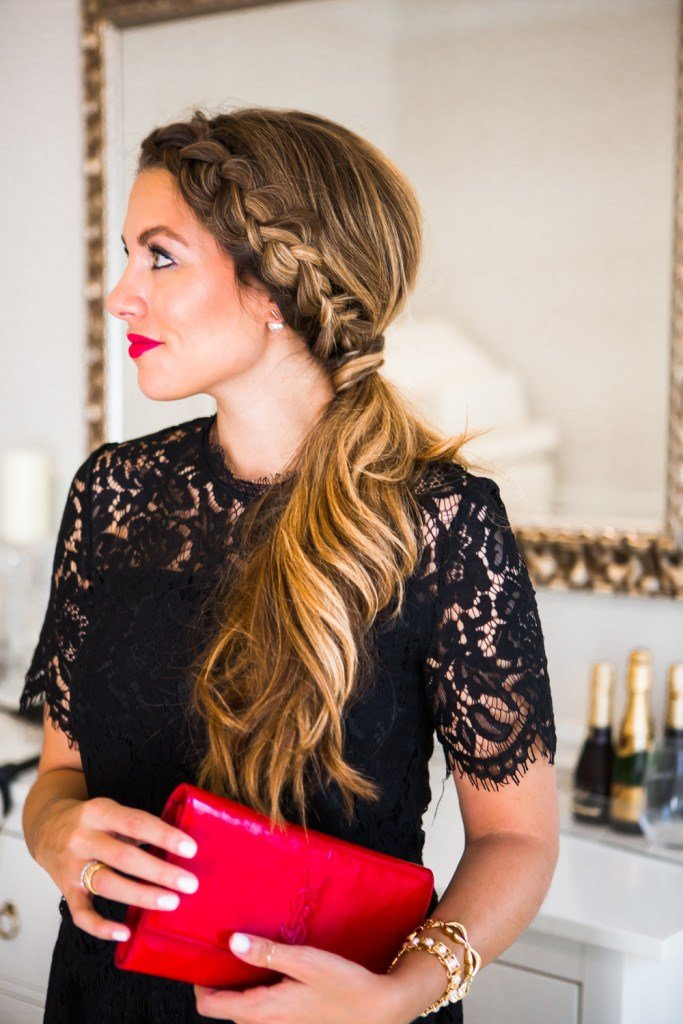 The Best Dutch Braid Ponytail Tutorial Giveaway The Teacher Pictures
