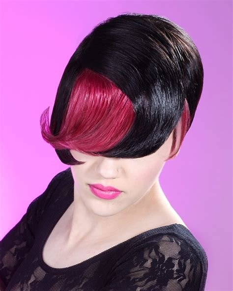 The Best A Short Black Hairstyle From The Street Silhouette Collection By Mg Hairdressing No 18967 Pictures
