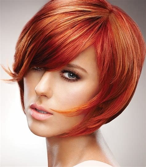 The Best A Short Red Hairstyle From The Kinetic Image Collection By Pictures