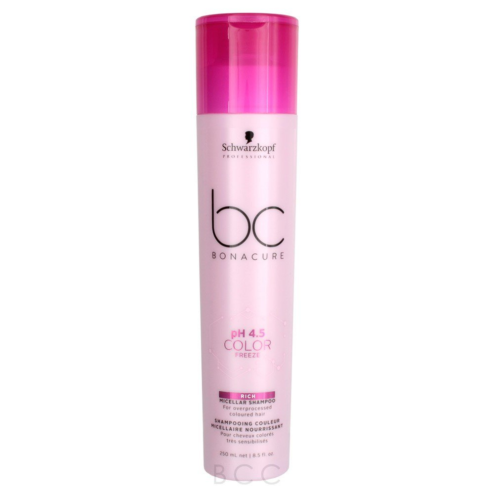 The Best Schwarzkopf Bc Bonacure Color Freeze Sulfate Free Shampoo 8 5 Oz Beauty Care Choices Pictures