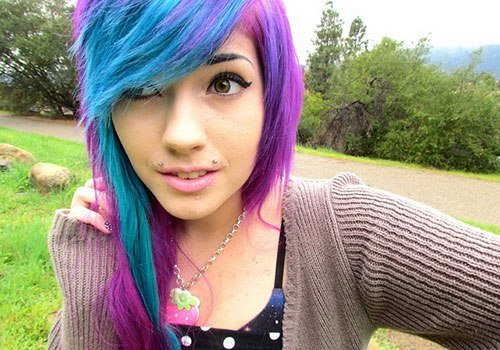 The Best 26 Lively Fun Hair Color Ideas Creativefan Pictures