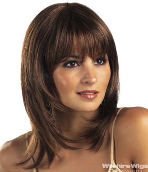 The Best 14 Finest Medium Length Hairstyles For Round Faces Pictures