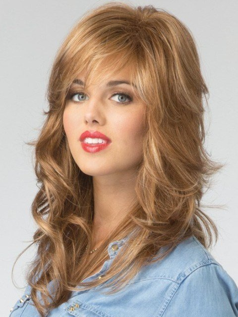 The Best 15 Eye Catching Long Hairstyles For Round Faces – Includes Wigs – Circletrest Pictures