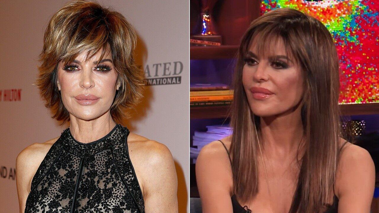 The Best Lisa Rinna Ditches Her Signature Bob For Longer Locks See The Shocking Hair Transformation Pictures