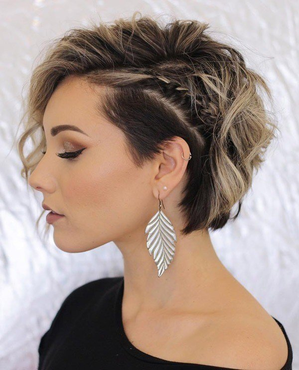 The Best Trending Hairstyles 2019 Short Layered Hairstyles Evesteps Pictures