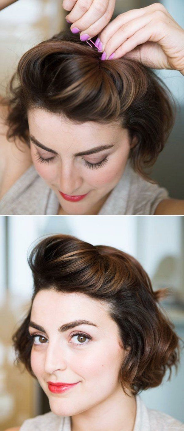 The Best 40 Easy Hairstyles No Haircuts For Women With Short Hair Pictures