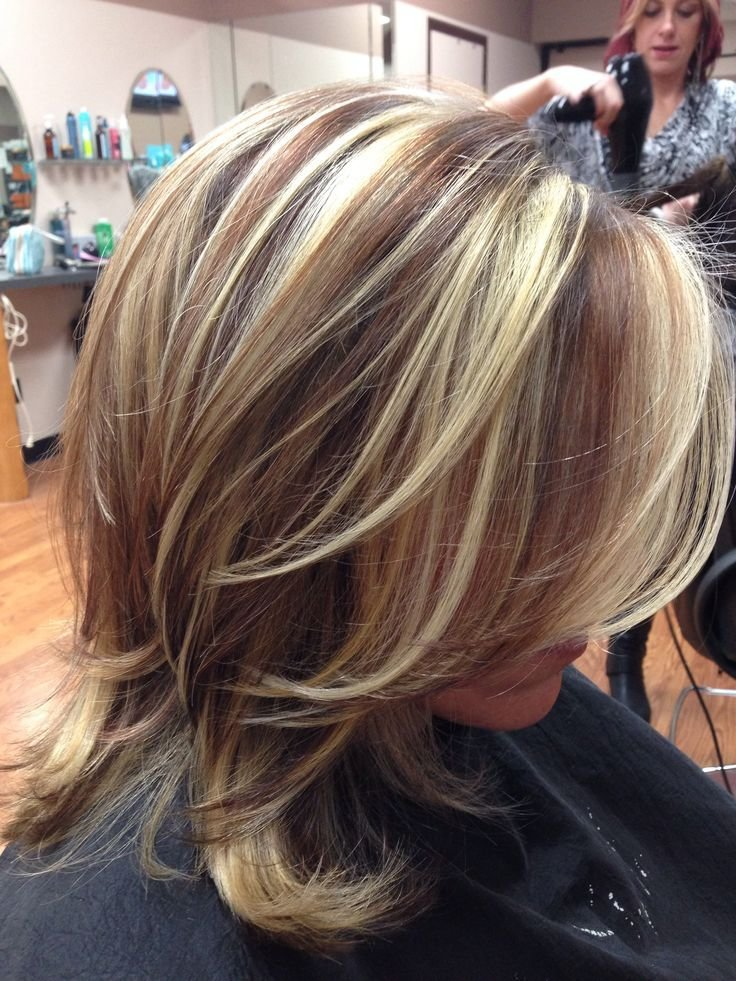 The Best Hair Color Ideas Brown With Blonde Highlights Google Pictures