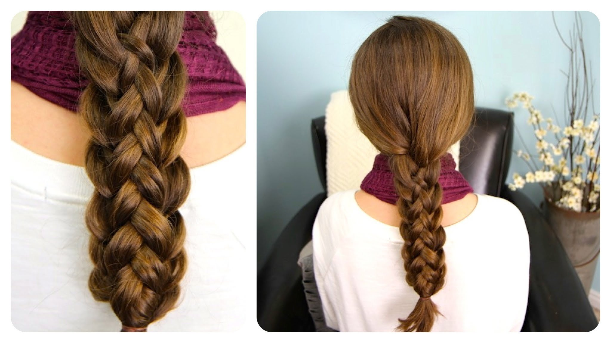 The Best How To Do Cute Stacked Braids Hairstyles For Long Hair Diy Pictures