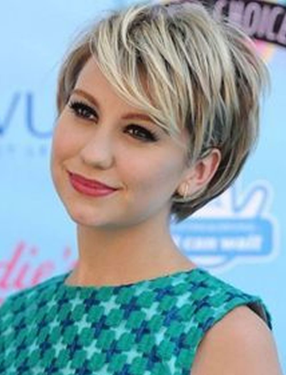 The Best Short Haircuts For Round Face Thin Hair Ideas For 2018 Pictures