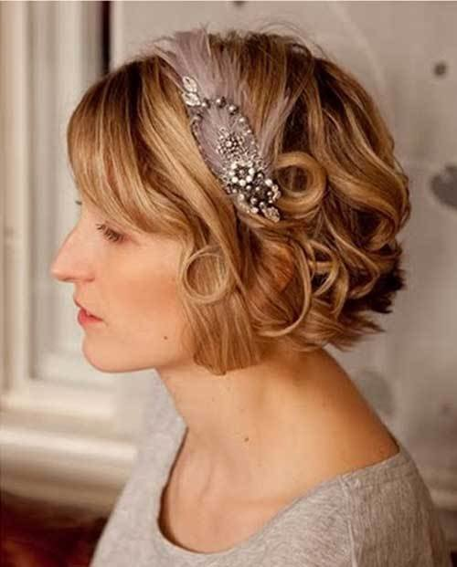 The Best 30 Wedding Hair Styles For Short Hair Hairstyles Haircuts 2016 2017 Pictures