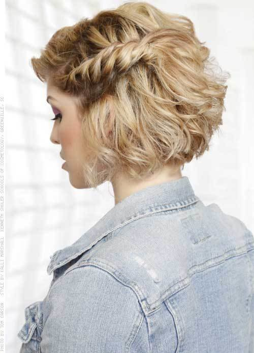 The Best Hairstyles For Short Hair For Prom Hairstyles Haircuts Pictures