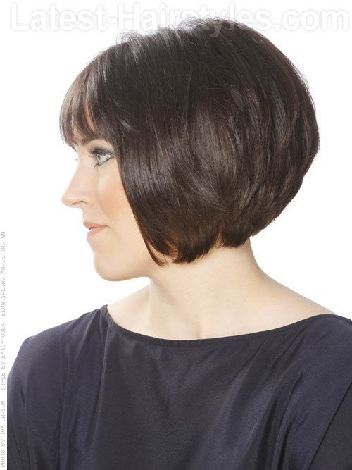 The Best Short Bob Hairstyle Stack Layers 1830 Pictures