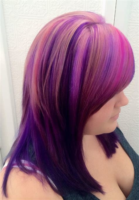 The Best How To Magenta Pink Hair Color Using Pravana Pictures