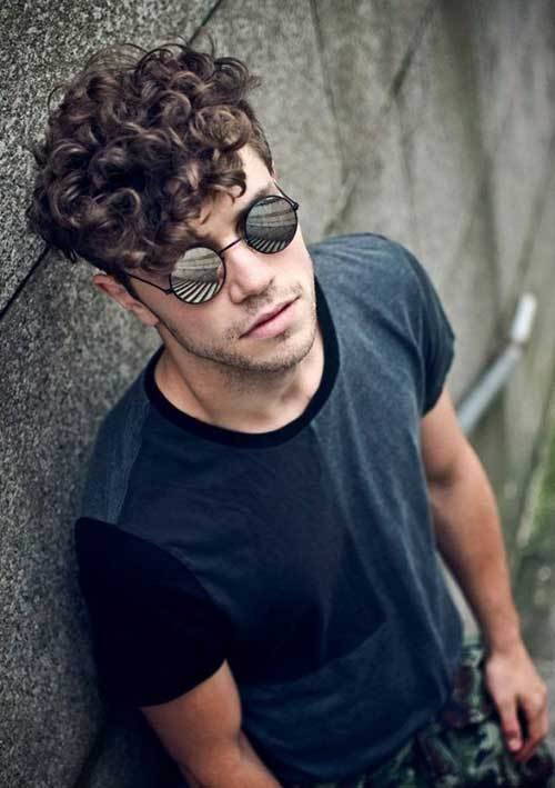 The Best 10 Thick Curly Hair Men Mens Hairstyles 2018 Pictures