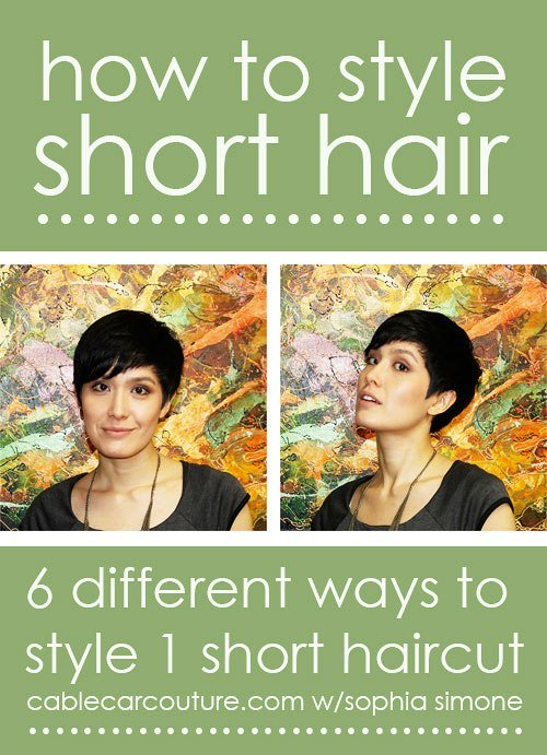 The Best 10 Fabulous Hair Tutorials For Short Hair Pictures